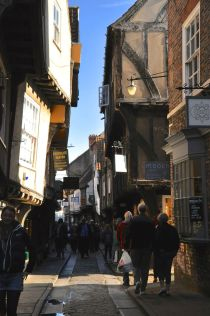 The Shambles, a preserved medieval street