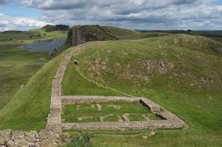 Remains of Castle Nick, Milecastle 39 (picture from the internet)