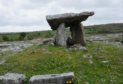 The Poulnabrone Portal Tomb