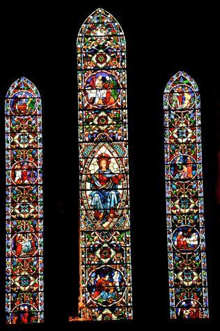 The beautiful O'Brien Memorial Window of 1860