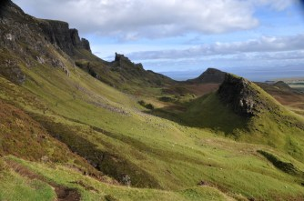 On the Quiraing trail