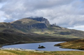 The Storr, and Loch Leathan