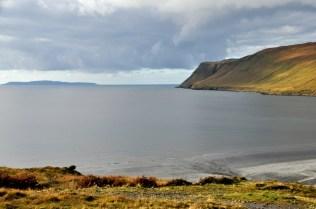 Our starting point below, Loch Brittle