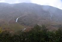 Waterfalls on the mountain