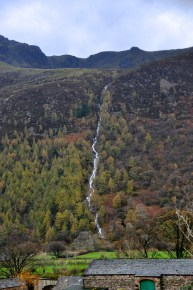 The waterfall at Buttermere