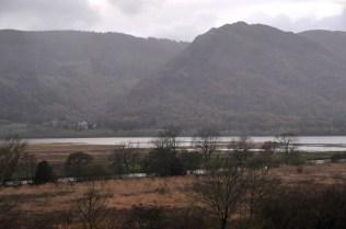 A hamlet across the lake