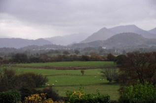 View from our B&B
