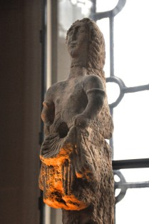Statue of a water nymph, from a bath hot room (caldarium); water would have flowed from her middle to a basin