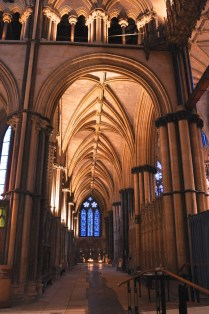 A closer look at the east-end aisle vaulting