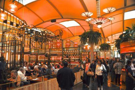 Inside the El Nacional restaurant complex