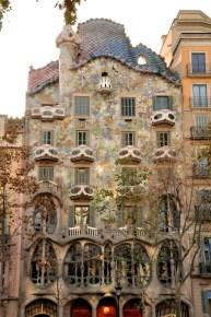 Casa Batllo by Antoni Gaudi, 1904