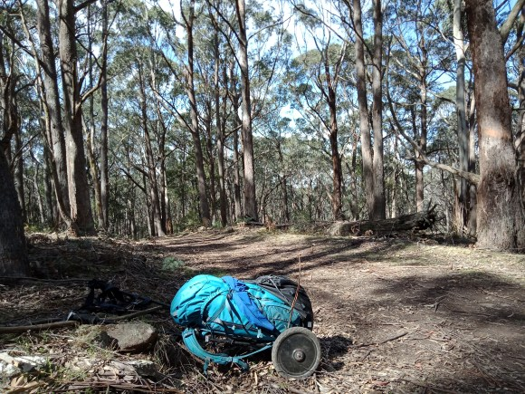 Getting close to Jenolan Caves on the Six Foot Track