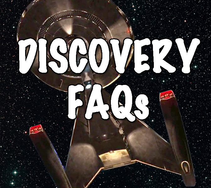 Star Trek discovery faqs