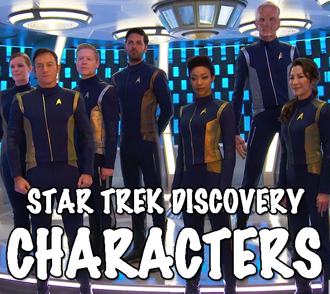 Star Trek Discovery - Characters