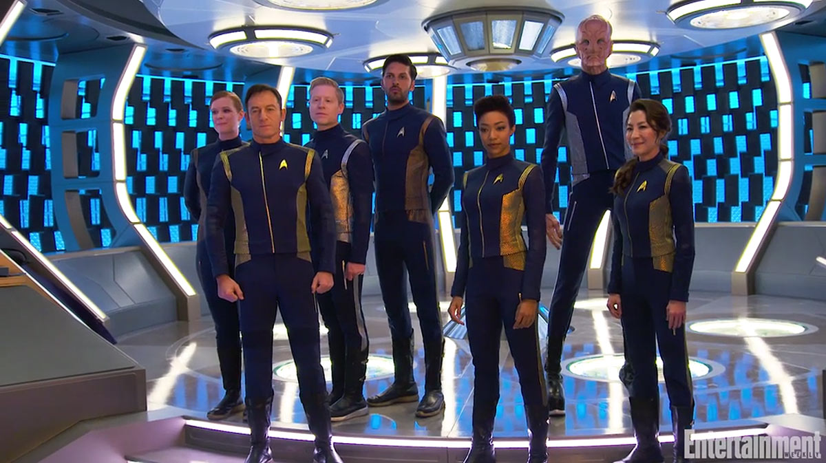 Star Trek Discovery Characters - The Cast and Crew of USS Discovery