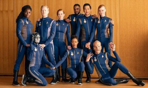Star Trek Discovery Crew - Will you take my hand