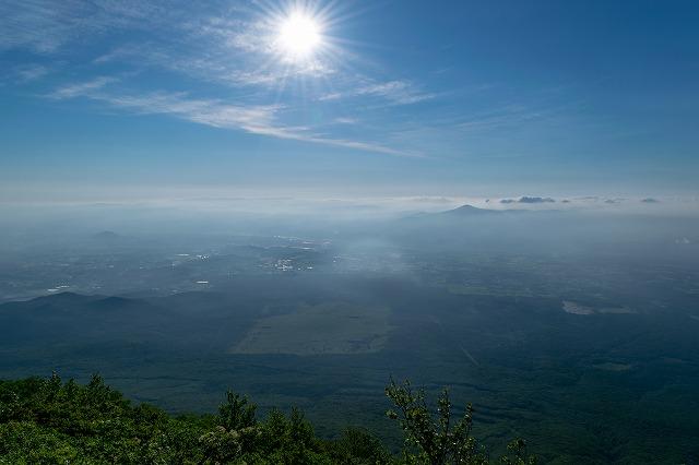 7合目近辺からの眺望 姫神山