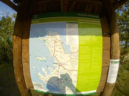 Map of Vilsandi national park
