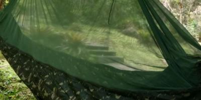 Acampar com rede