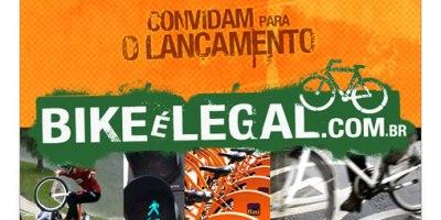 Convite lançamento do portal Bike é Legal