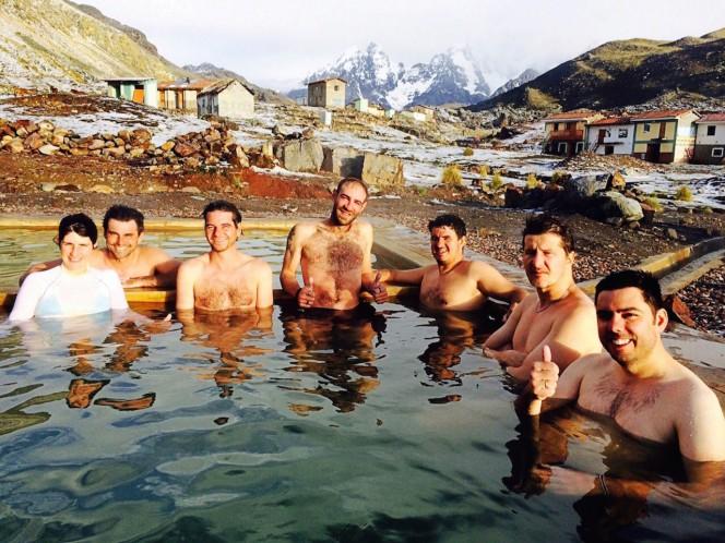 Águas termais Peru