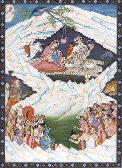 Hindu Imagery of Lord Shiva