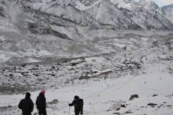 Dudh Pokhari during winter