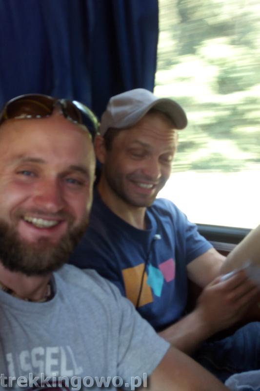 Mołdawia 2015 - Dzień 1 marszrutka trekkingowo