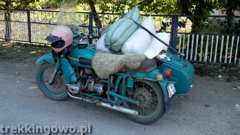Mołdawia - Dzień 4 motor junak trekkingowo