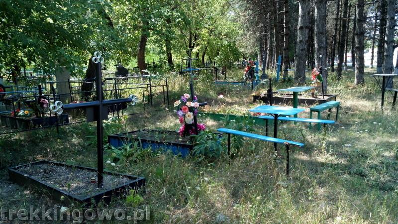 Mołdawia - Dzień 4 cmentarz Strycza trekkingowo