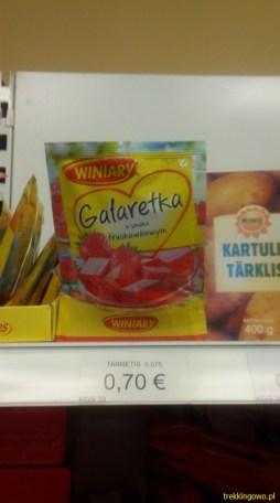 Estonia 2015 - polskie produkty na półkach sklepowych 3