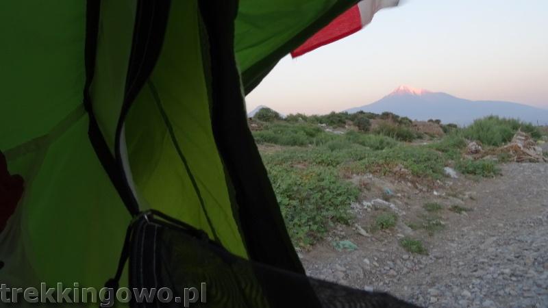Ararat - u podnóża świętej góry Ormian ararat 8 trekkingowo