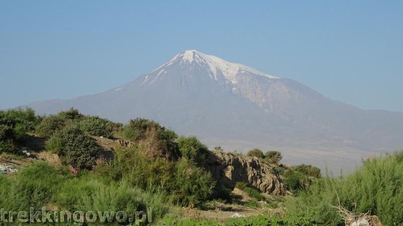 Ararat - u podnóża świętej góry Ormian ararat 7 trekkingowo