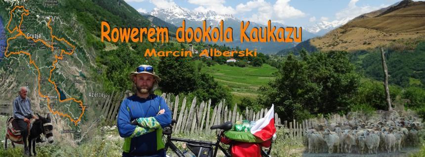 Rowerem przez Kaukaz