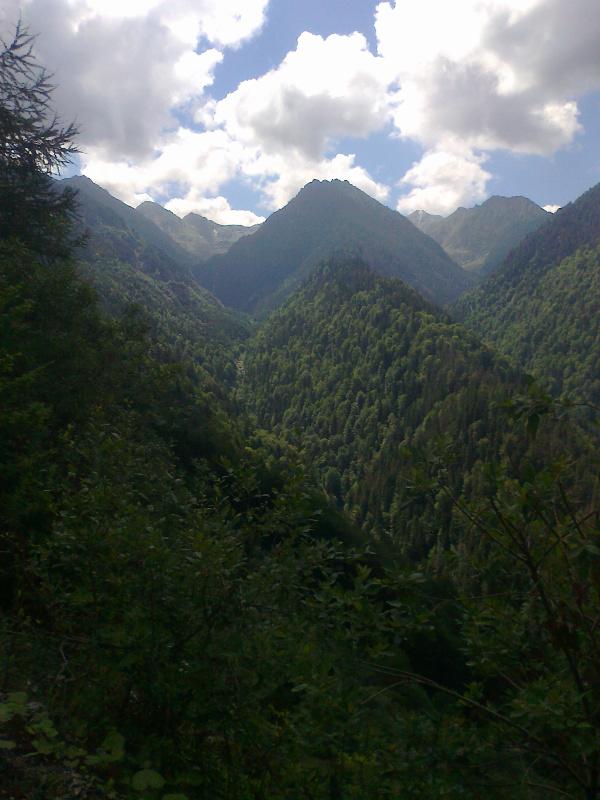 Rumunia, czy nadal dzika połowa widok trekkingowo