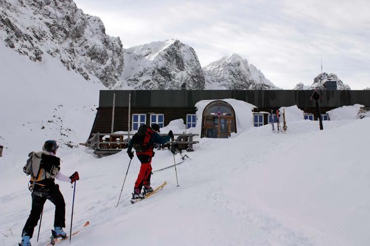 ski de randonnée hautes tatras