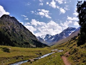 Spaziergang im Tal