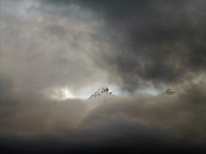 Nachmittags kommen die Wolken