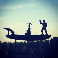 Mythical Ship 2010 by Jaroslav Róna