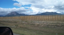 Colorado Snow Fence - southern CO getting close to NM - we drove back through Taos and some other nice areas of NM