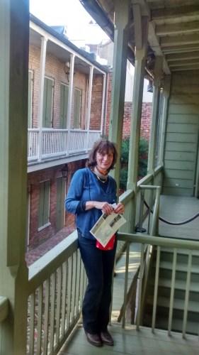 Saturday afternoon at Madame John's legacy museum.