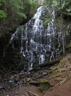 Passing by Ramona Falls.