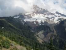 Mt. Hood from section of trail heading to McNeil Point