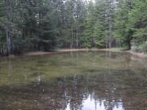 Snow melt Pond