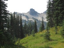 View of Castle in the Tatoosh Range