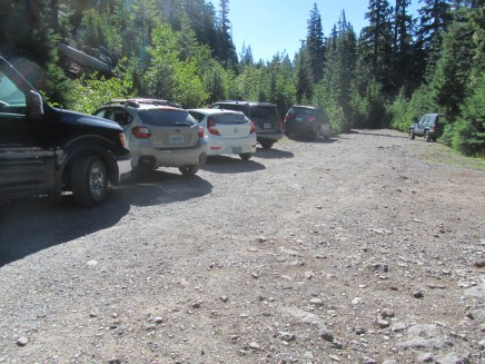 Parking is very limited at the trailhead.
