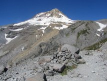 This is where the Gnarl Ridge hike ends and I turn on the Timberline Trail to carry on.