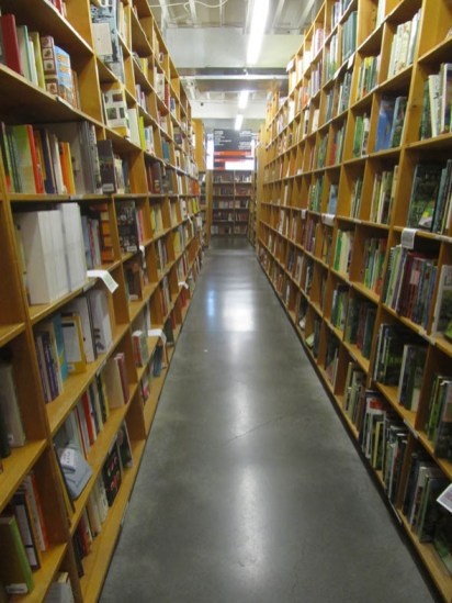 Yes, many, many rows of books.