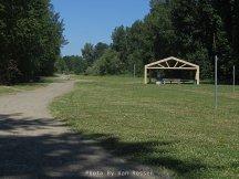 Park area of Capt. Clark Park