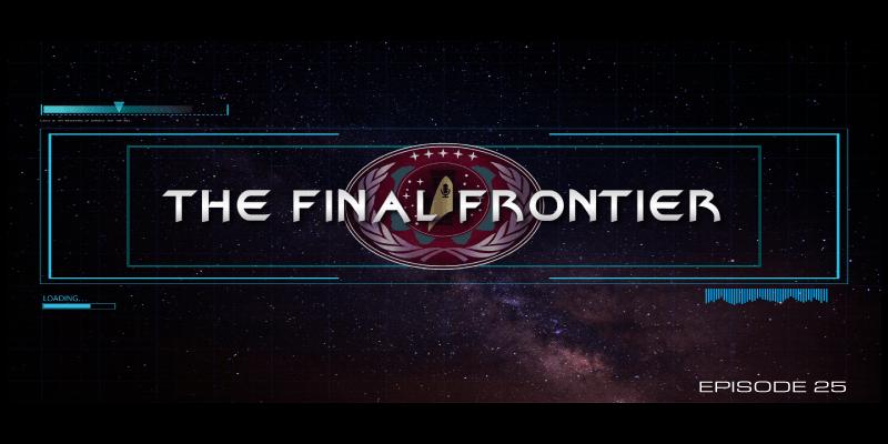 The Final Frontier – Episode 25 – David MacDowell Blue